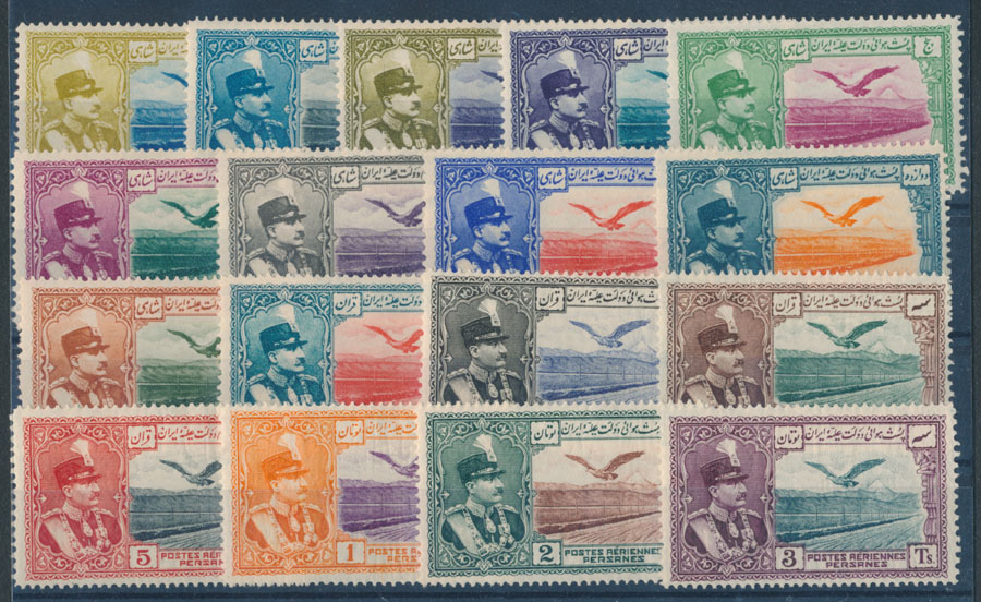 stamp auction iran air post stamps stamp auction 64 lot 555
