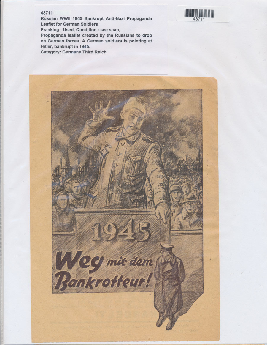 an examination of the nazi propaganda during world war ii By the german nazi regime during the second world war hitler wrote the memoir and propaganda tract.