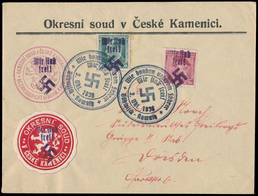 Lot 440 - germany. occupation issues of the world war ii Bohmen und Mahren (Bohemia and Moravia) -  Raritan Stamps Inc. Stamp Auction #74