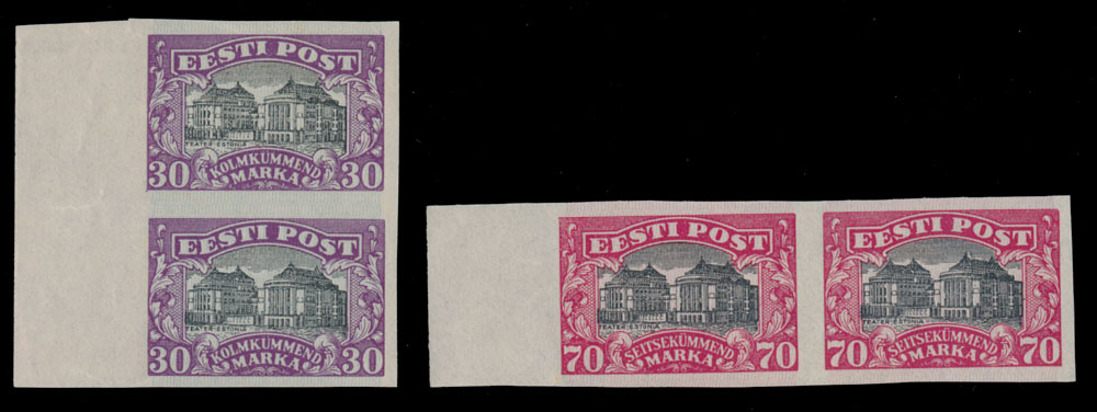 Lot 11 - 1. The One Man Collection of Baltic States estonia -  Raritan Stamps Inc. Stamp Auction #75