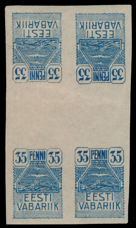 Lot 3 - 1. The One Man Collection of Baltic States estonia -  Raritan Stamps Inc. Stamp Auction #75