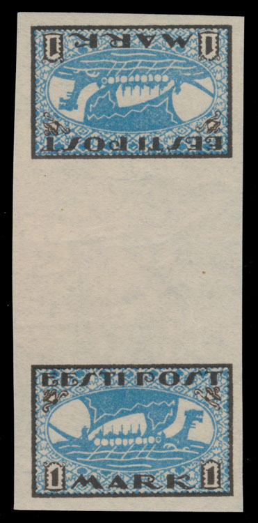 Lot 4 - 1. The One Man Collection of Baltic States estonia -  Raritan Stamps Inc. Stamp Auction #75