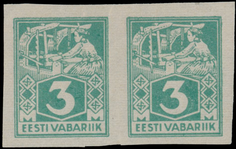 Lot 6 - 1. The One Man Collection of Baltic States estonia -  Raritan Stamps Inc. Stamp Auction #75
