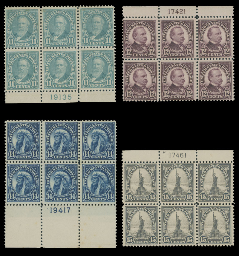 Lot 217 - 2. United States  -  Raritan Stamps Inc. Live Bidding Auction #81