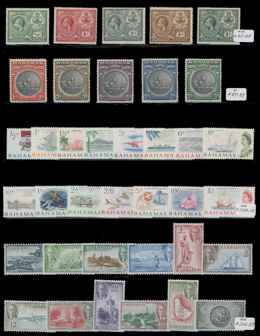 Lot 388 - 4. British Commonwealth - Collections  -  Raritan Stamps Inc. Live Bidding Auction #81