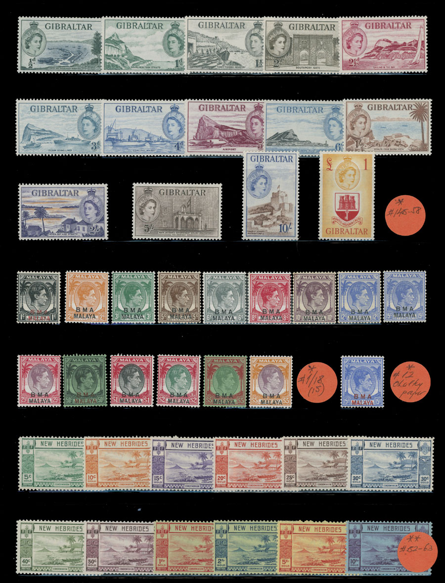Lot 391 - 4. British Commonwealth - Collections  -  Raritan Stamps Inc. Live Bidding Auction #81
