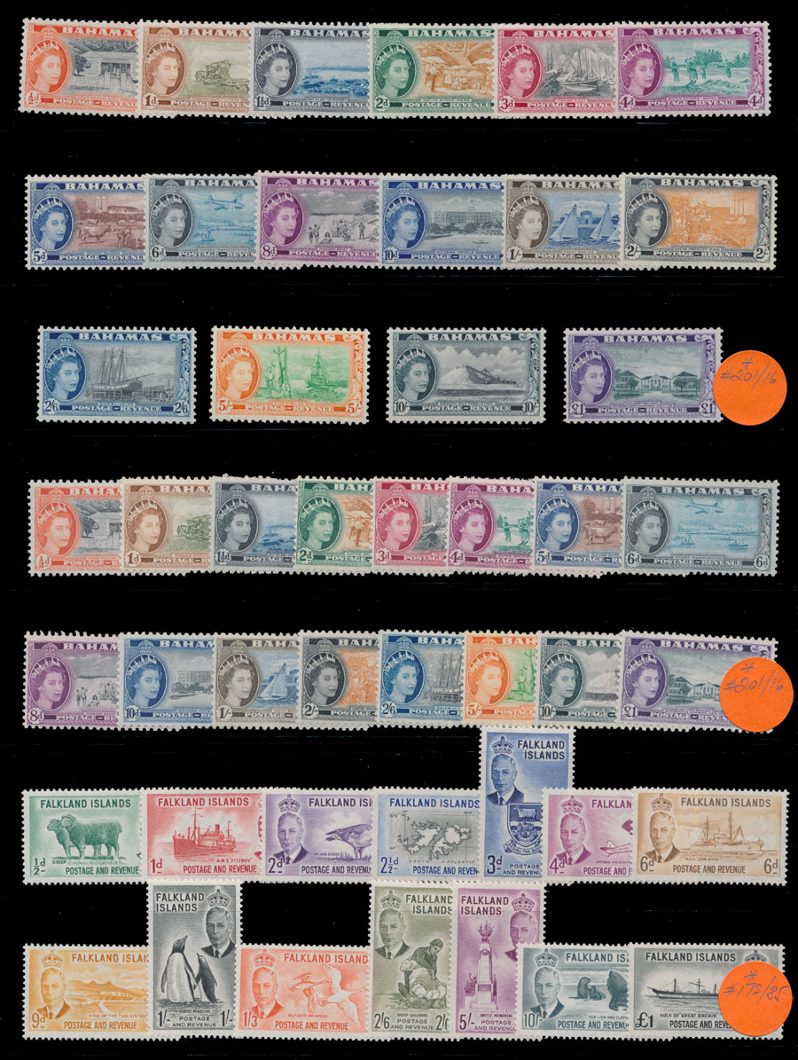Lot 392 - 4. British Commonwealth - Collections  -  Raritan Stamps Inc. Live Bidding Auction #81