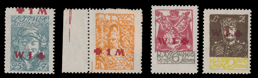 Lot 537 - central lithuania semi - postal issues -  Raritan Stamps Inc. Live Bidding Auction #81