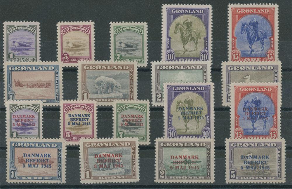 Lot 726 - Greenland  -  Raritan Stamps Inc. Live Bidding Auction #81
