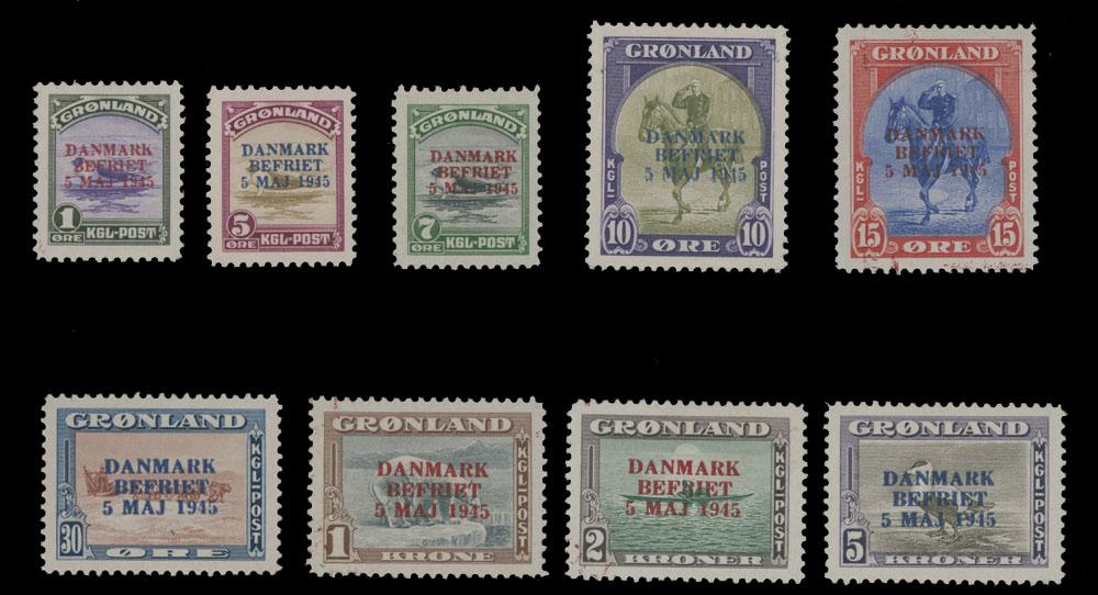 Lot 727 - Greenland  -  Raritan Stamps Inc. Live Bidding Auction #81