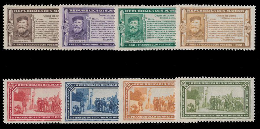Lot 815 - San Marino  -  Raritan Stamps Inc. Live Bidding Auction #81