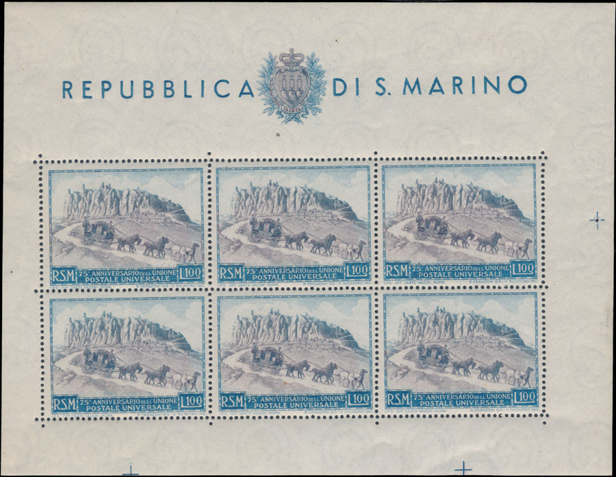 Lot 816 - San Marino  -  Raritan Stamps Inc. Live Bidding Auction #81