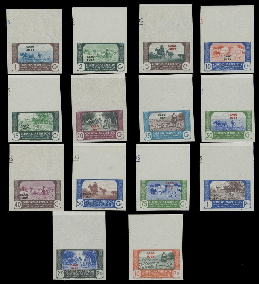 Lot 1006 - SPAIN - COLONIES cape juby -  Raritan Stamps Inc. Live Bidding Auction #82