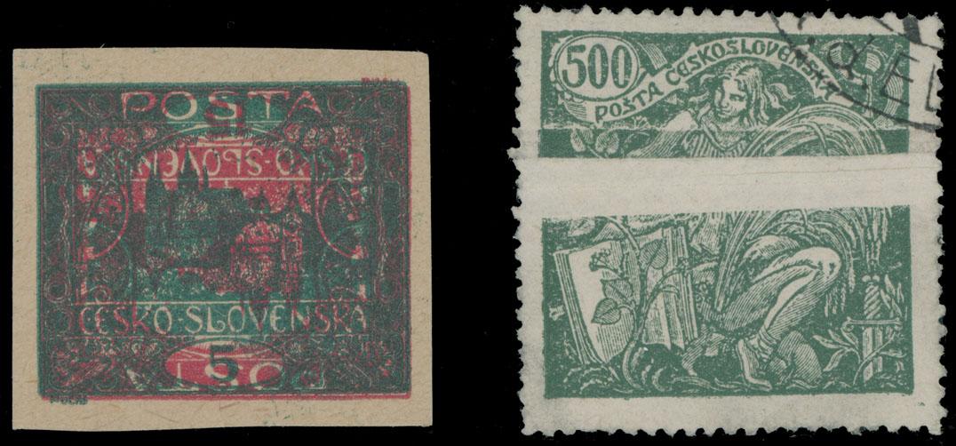 Lot 288 - Czechoslovakia  -  Raritan Stamps Inc. Live Bidding Auction #82