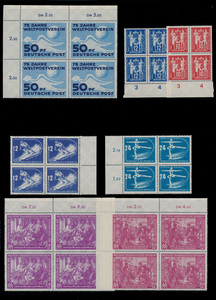 Lot 325 - Germany  & Area D. East Germany -  Raritan Stamps Inc. Live Bidding Auction #82