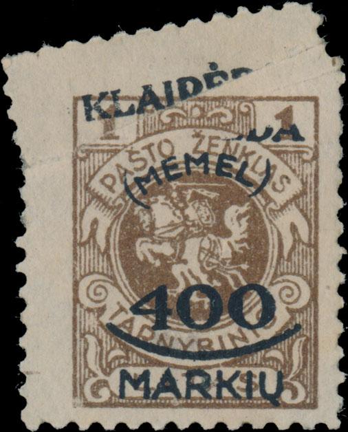 Lot 349 - Germany. Memel  -  Raritan Stamps Inc. Live Bidding Auction #82