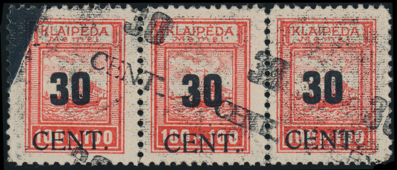 Lot 352 - Germany. Memel  -  Raritan Stamps Inc. Live Bidding Auction #82
