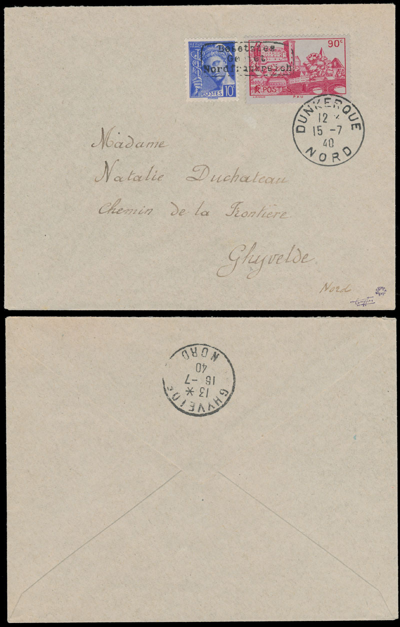 Lot 355 - germany. occupation issues of the world war ii France (Frankreich) - Dunkirk (Dunkirchen) -  Raritan Stamps Inc. Live Bidding Auction #82