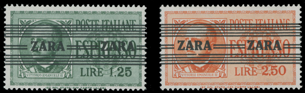 Lot 364 - germany. occupation issues of the world war ii zara -  Raritan Stamps Inc. Live Bidding Auction #82