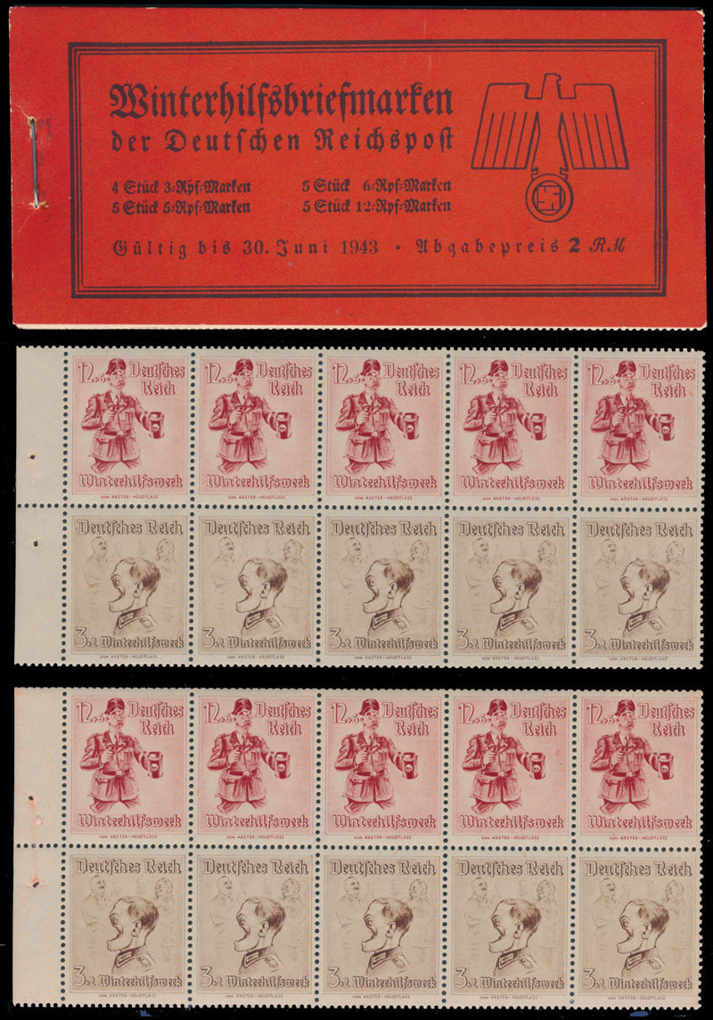 Lot 366 - germany. occupation issues of the world war ii stamp booklet -  Raritan Stamps Inc. Live Bidding Auction #82