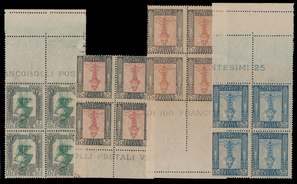 Lot 395 - italy - colonies libya -  Raritan Stamps Inc. Live Bidding Auction #82
