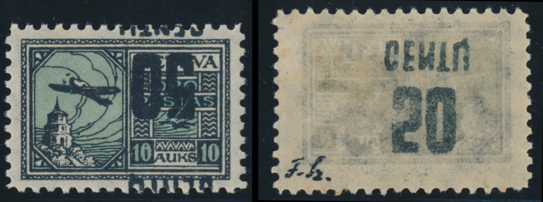 Lot 437 - Lithuania air post stamps -  Raritan Stamps Inc. Live Bidding Auction #82