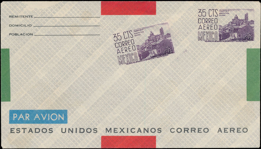 Lot 444 - Mexico postal stationery items -  Raritan Stamps Inc. Live Bidding Auction #82