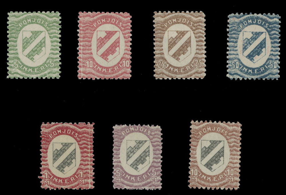 Lot 465 - north ingermanland  -  Raritan Stamps Inc. Live Bidding Auction #82