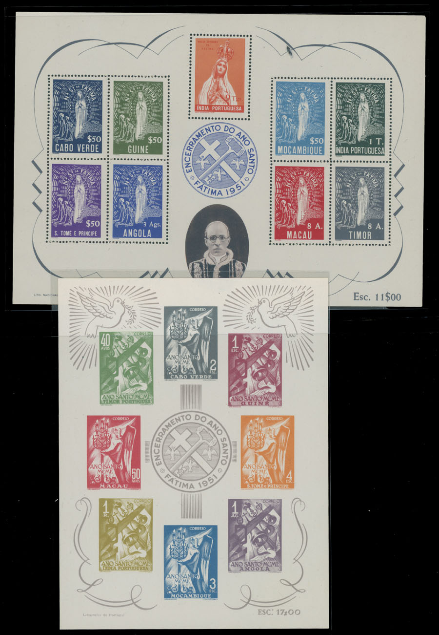 Lot 475 - portuguese colonies Issues for All Colonies -  Raritan Stamps Inc. Live Bidding Auction #82