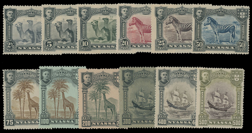 Lot 480 - portuguese colonies nyassa -  Raritan Stamps Inc. Live Bidding Auction #82