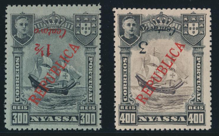 Lot 483 - portuguese colonies nyassa -  Raritan Stamps Inc. Live Bidding Auction #82