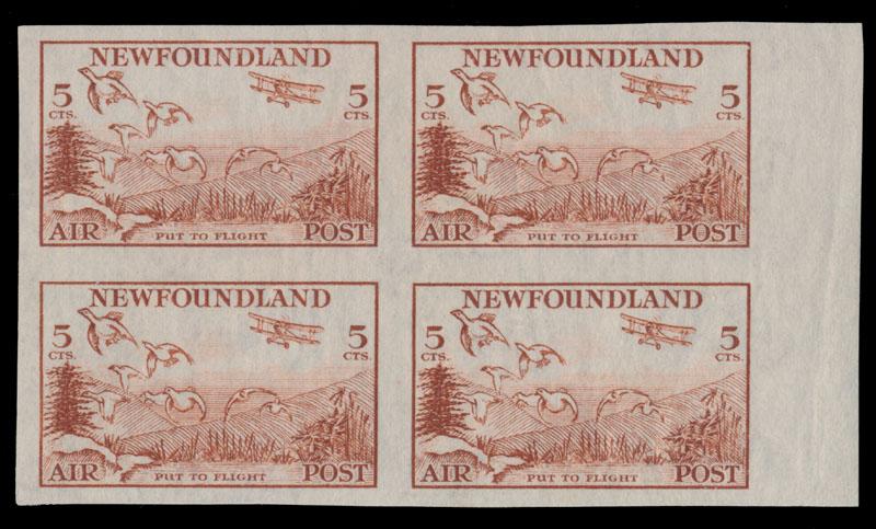 Lot 90 - British Commonwealth canada - newfoundland - air post stamps -  Raritan Stamps Inc. Live Bidding Auction #82