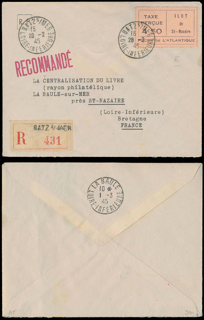 Lot 313 - germany. occupation issues of the world war ii private issues -  Raritan Stamps Inc. Live Bidding Auction #84