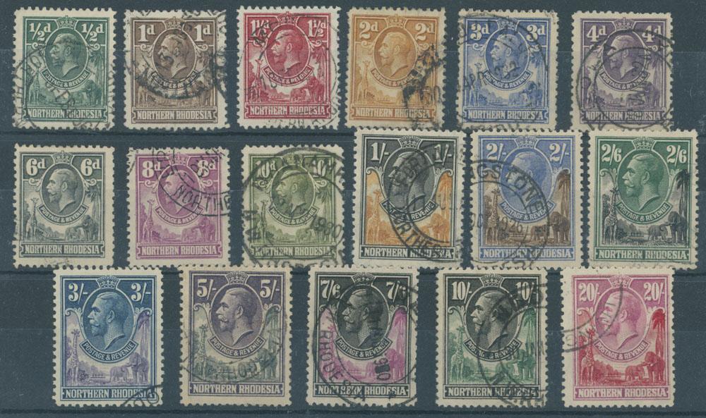 Lot 142 - British Commonwealth northern rhodesia -  Raritan Stamps Inc. Live Bidding Auction #85