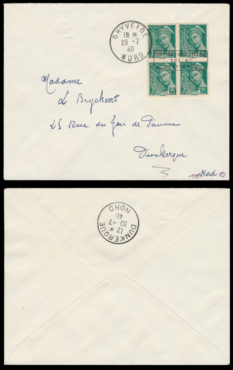 Lot 431 - germany. occupation issues of the world war ii France (Frankreich) – Dunkirk (Dunkirchen) -  Raritan Stamps Inc. Live Bidding Auction #85