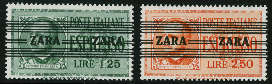 Lot 439 - germany. occupation issues of the world war ii zara -  Raritan Stamps Inc. Live Bidding Auction #85