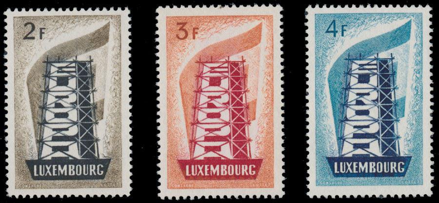 Lot 505 - Luxembourg  -  Raritan Stamps Inc. Live Bidding Auction #85