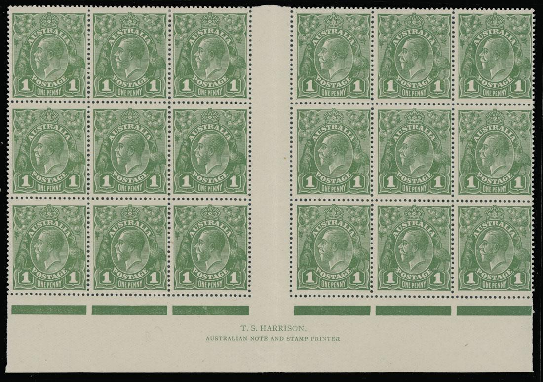 Lot 101 - British Commonwealth Australia -  Raritan Stamps Inc. Live Bidding Auction #89