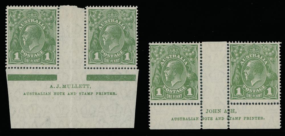 Lot 102 - British Commonwealth Australia -  Raritan Stamps Inc. Live Bidding Auction #89