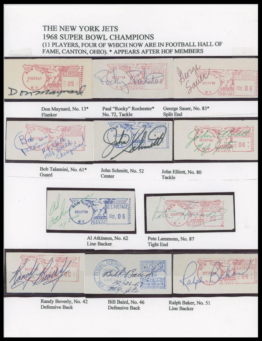 Lot 11 - autographs of famous people The Frank M. Rudon Collection -  Raritan Stamps Inc. Live Bidding Auction #89