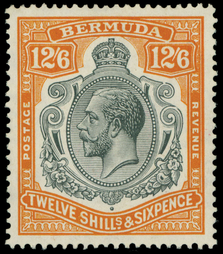 Lot 118 - British Commonwealth Bermuda -  Raritan Stamps Inc. Live Bidding Auction #89