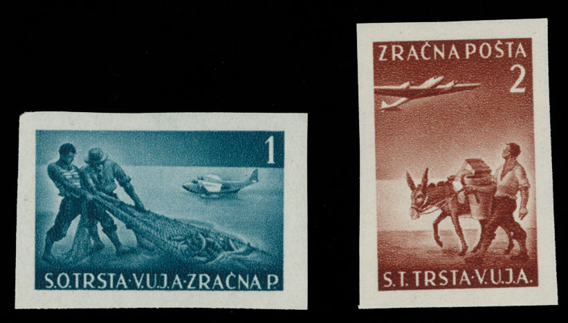 Lot 1554 - Yugoslavia trieste (zone b) -  Raritan Stamps Inc. Live Bidding Auction #89