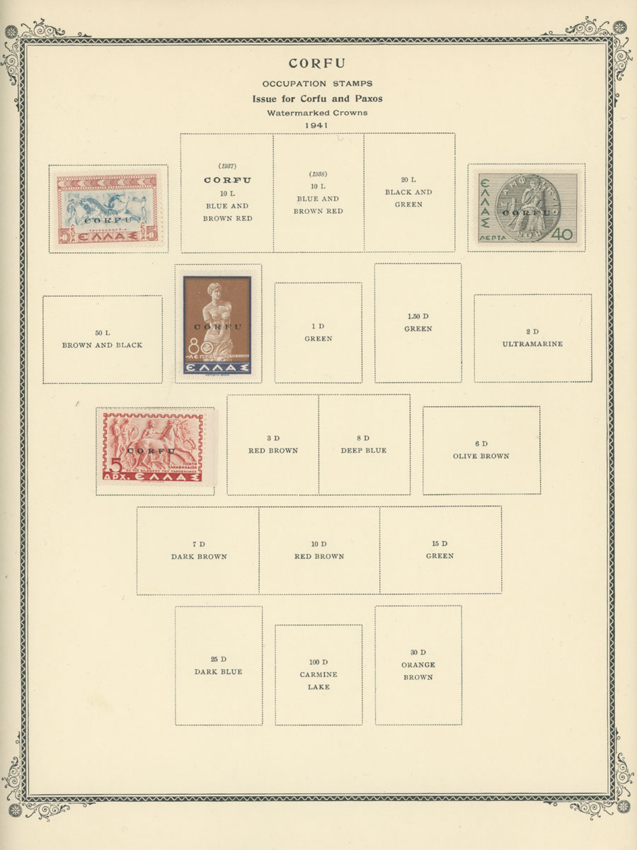 Lot 1555 - Worldwide Collection South Europe -  Raritan Stamps Inc. Live Bidding Auction #89