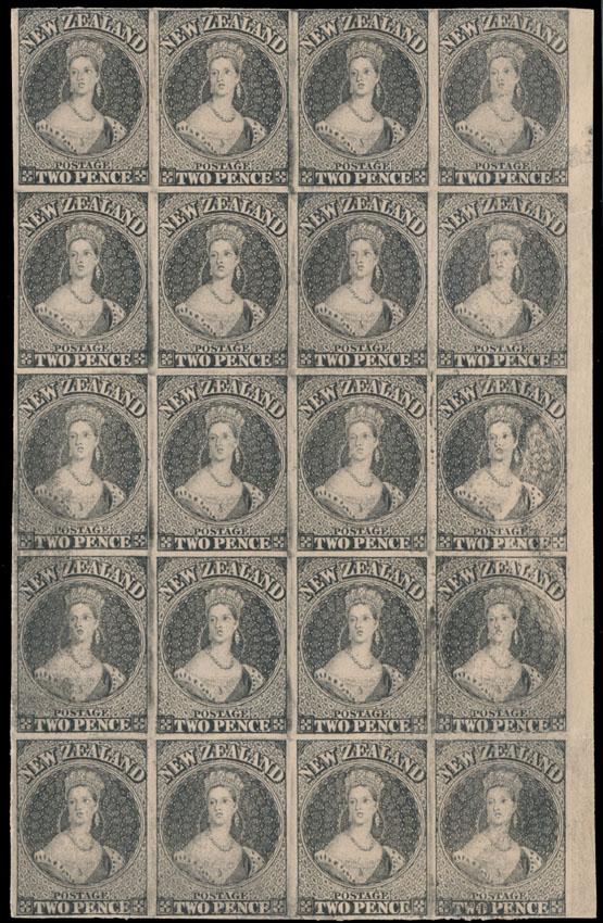 Lot 383 - British Commonwealth New Zealand -  Raritan Stamps Inc. Live Bidding Auction #89