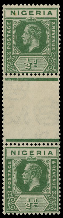Lot 388 - British Commonwealth nigeria -  Raritan Stamps Inc. Live Bidding Auction #89