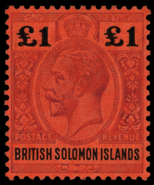 Lot 443 - British Commonwealth solomon islands -  Raritan Stamps Inc. Live Bidding Auction #89