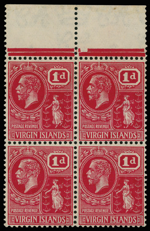 Lot 452 - British Commonwealth Virgin Islands -  Raritan Stamps Inc. Live Bidding Auction #89