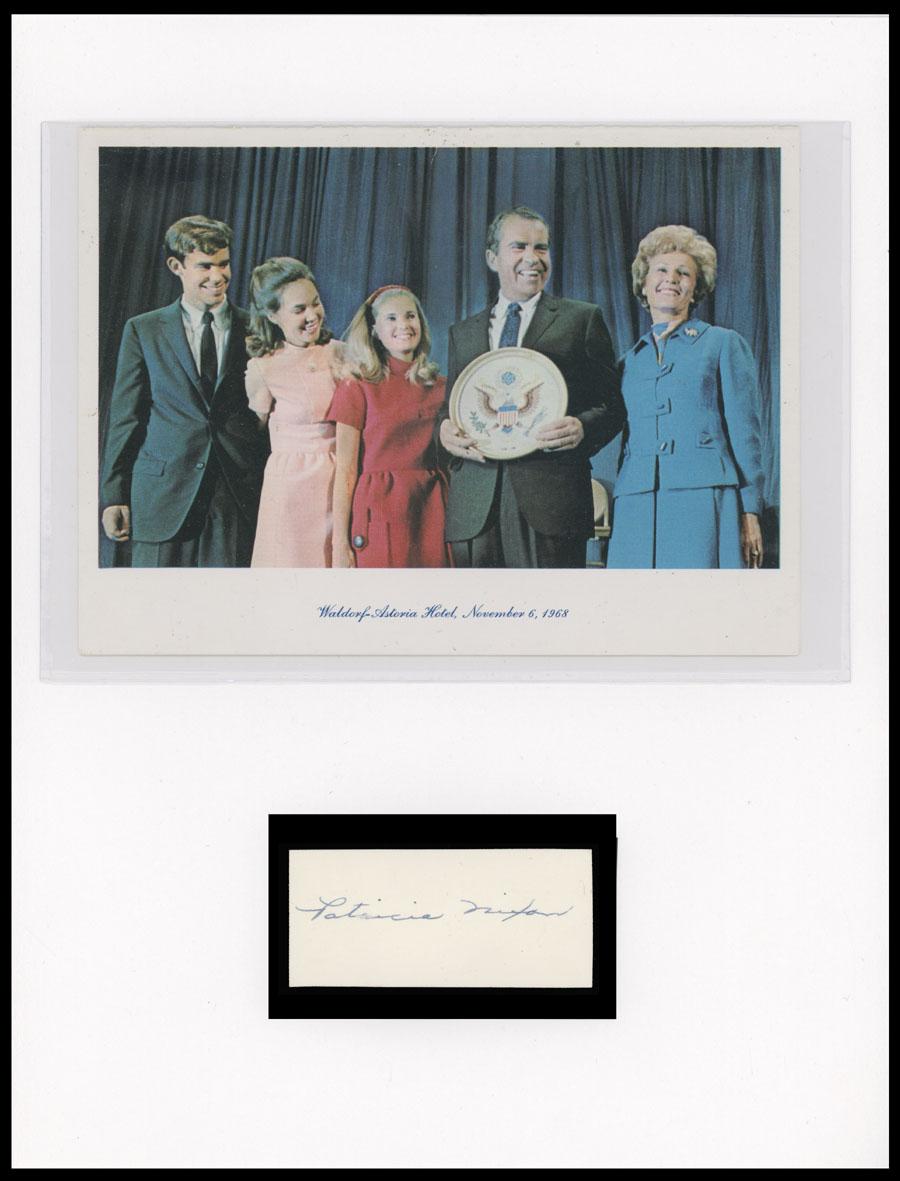 Lot 5 - autographs of famous people The Frank M. Rudon Collection -  Raritan Stamps Inc. Live Bidding Auction #89