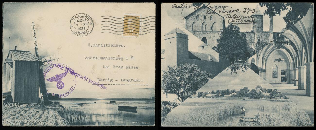 Lot 611 - estonia  -  Raritan Stamps Inc. Live Bidding Auction #89