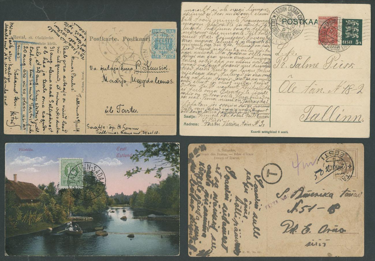 Lot 612 - estonia  -  Raritan Stamps Inc. Live Bidding Auction #89